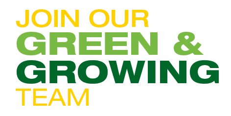 Join Our Green & Growing Team
