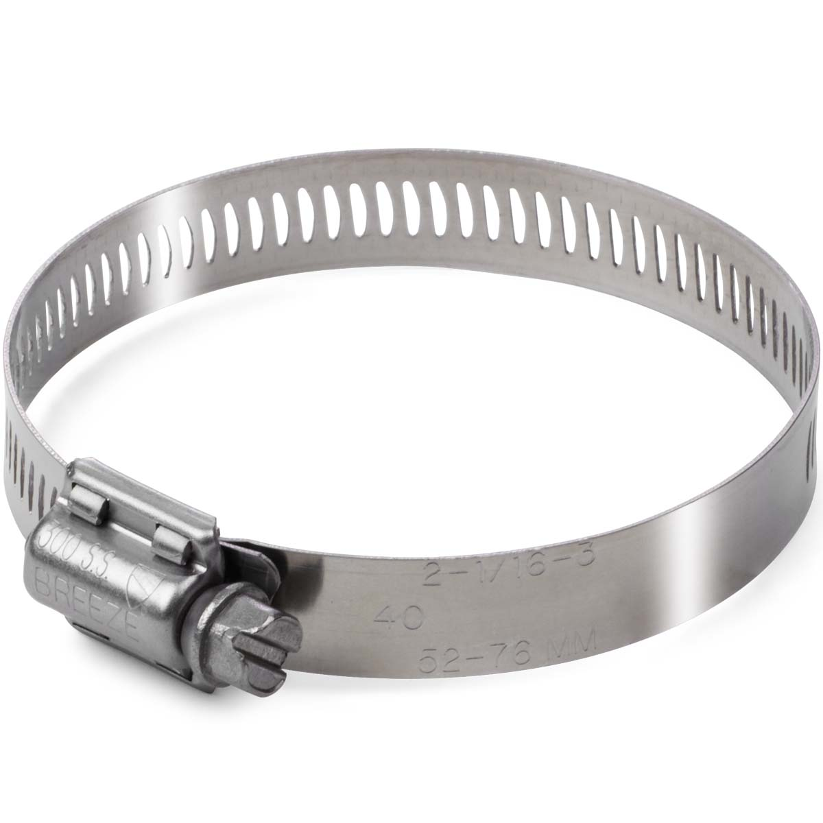 #16 Heavy-Duty Stainless Steel Hose Cl&  sc 1 st  Kimball Midwest : large stainless steel hose clamps - www.happyfamilyinstitute.com