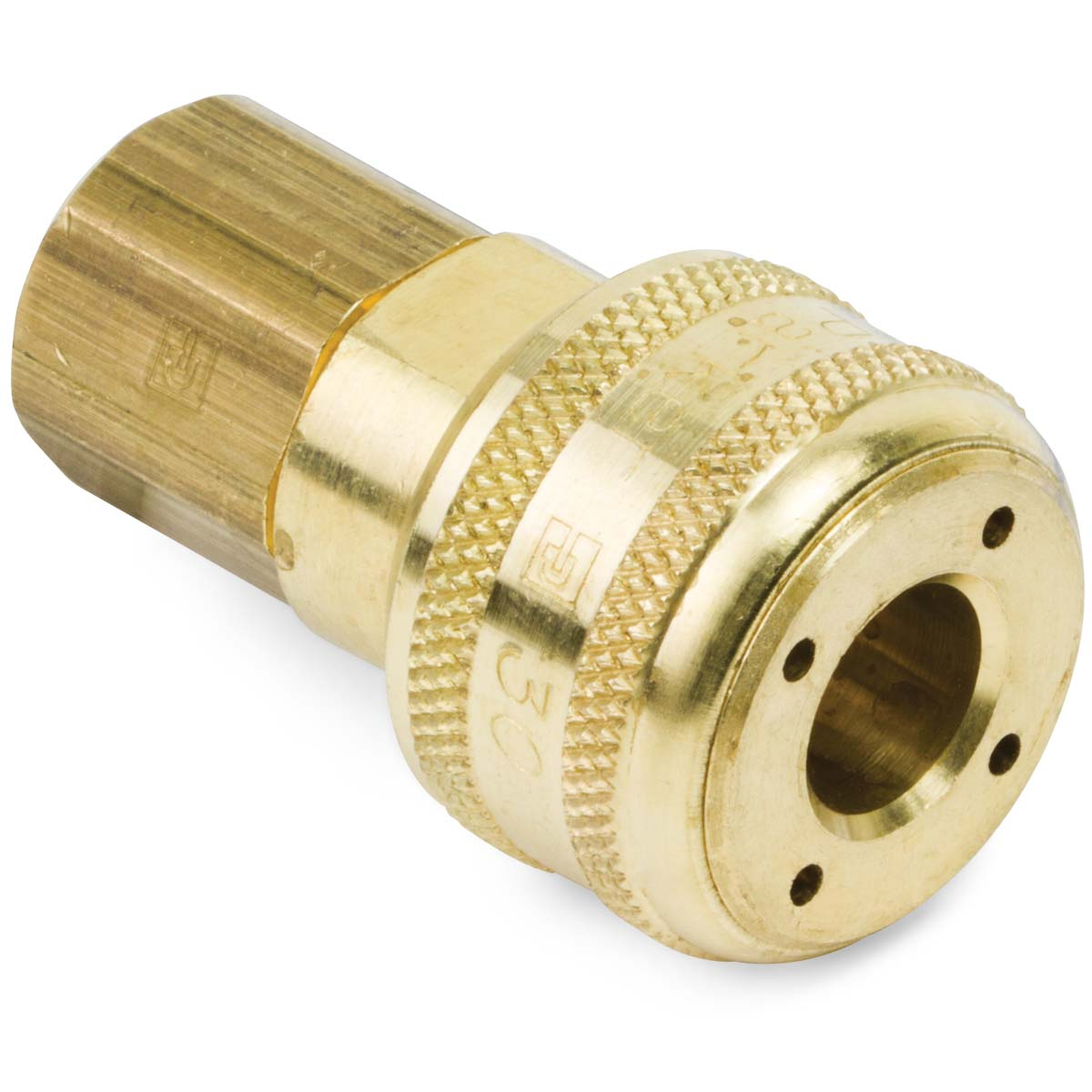 Pin Lock Quick Coupler : Industrial interchange pin lock female air coupler