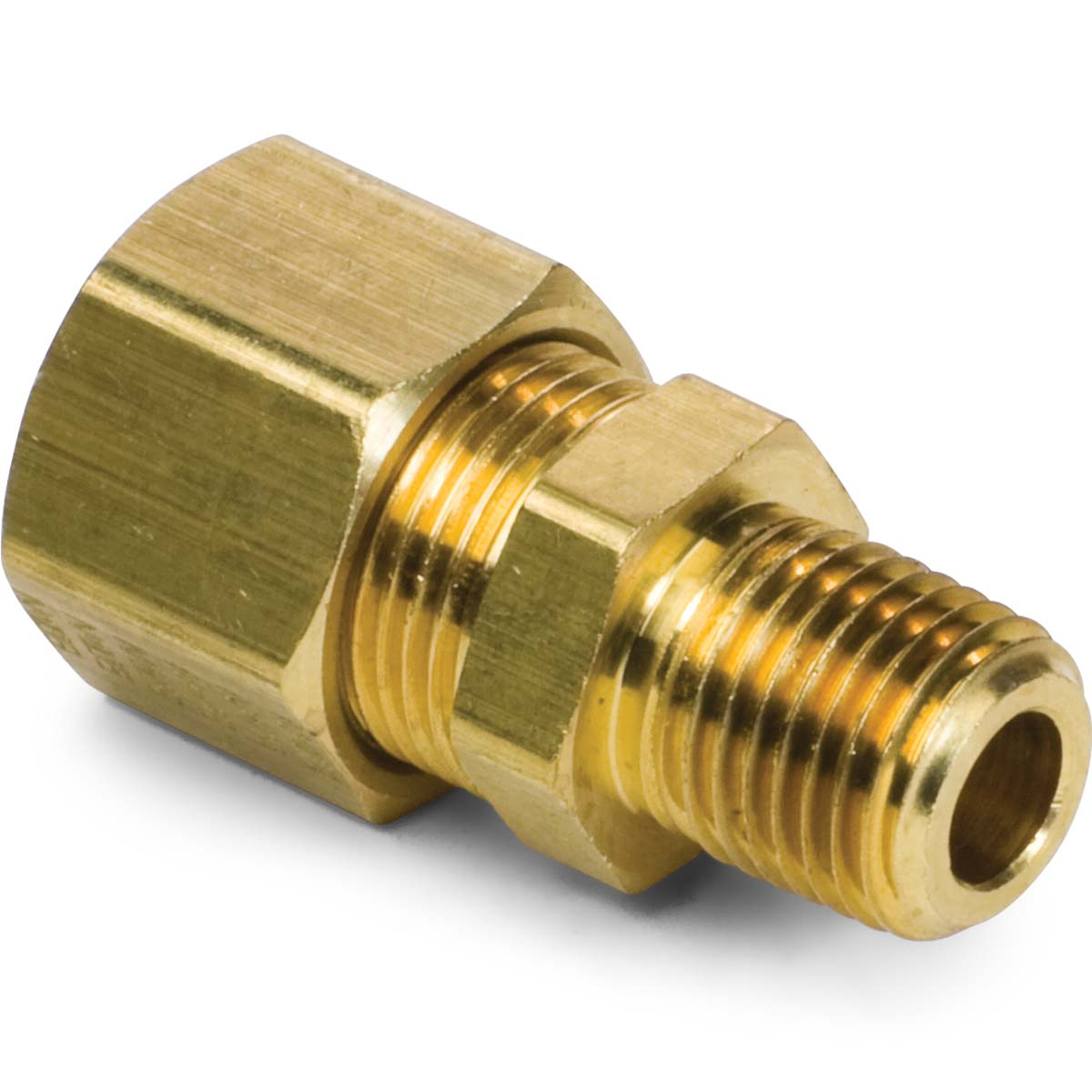 Brass compression male connector kimball midwest