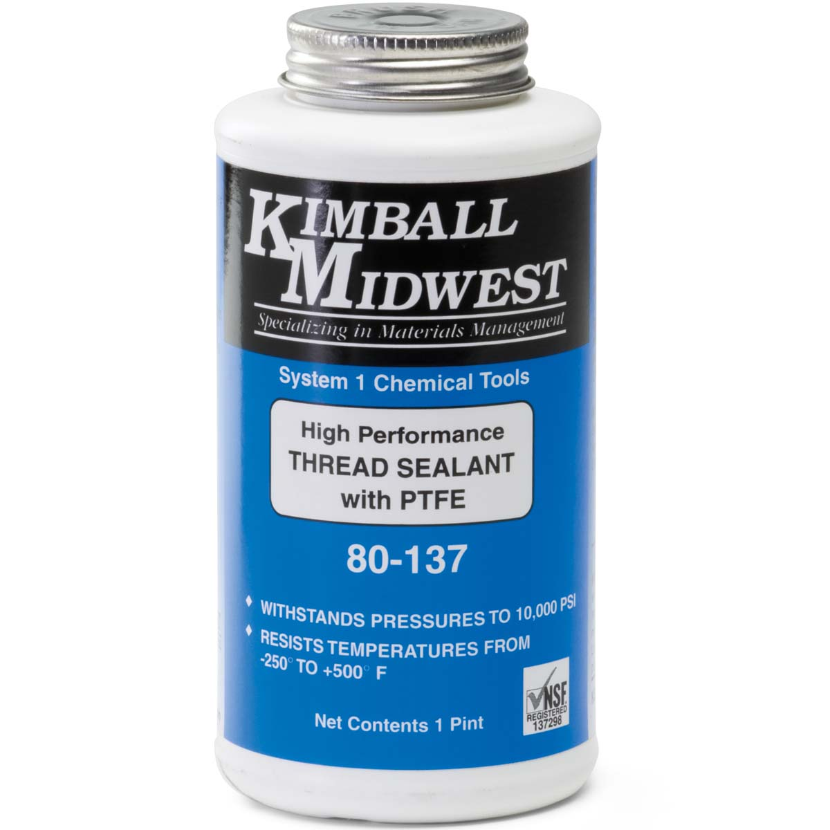 Thread Sealant with PTFE - Kimball Midwest