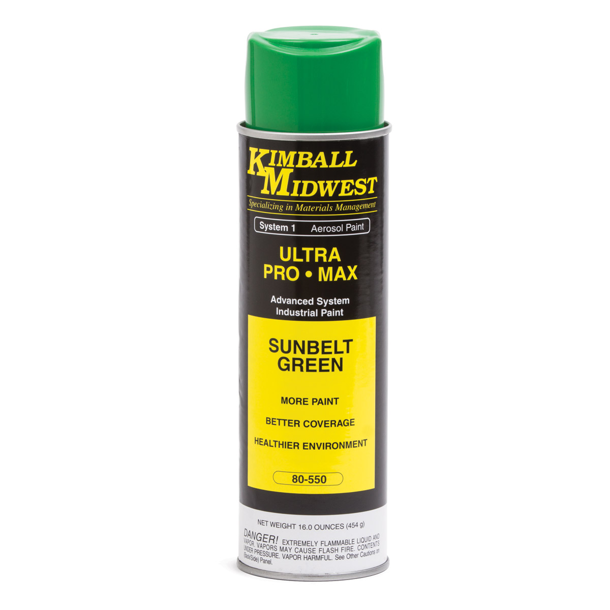 Sunbelt green ultra pro max paint kimball midwest Spray paint supplies