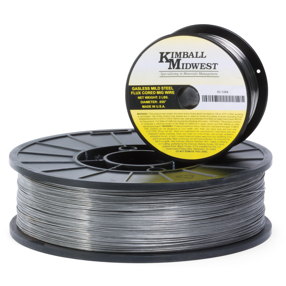 0.045 Mild Steel Gasless Flux Core MIG Wire - Kimball Midwest