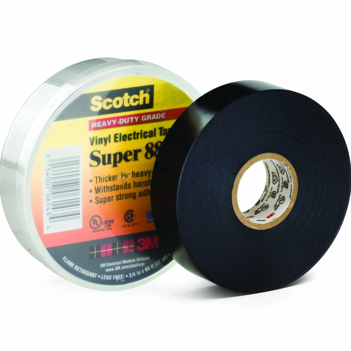 Scotch 174 Vinyl Electrical Tape Super 88 Kimball Midwest