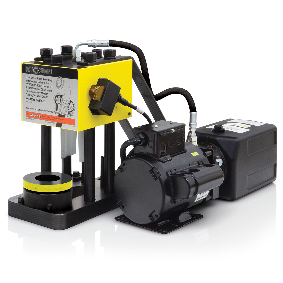T-401 Coll-O-Crimp I Press with 110V Electric Pump & Tooling Package