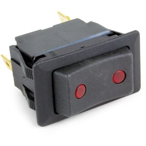 SPDT 3 Position (On-Off-On) Universal Weather Resistant Lighted Rocker Switch