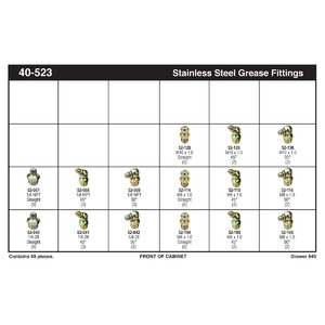 Stainless Steel Grease Fitting Assortment
