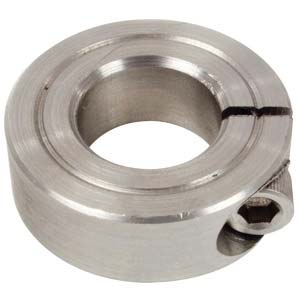 "3/8"" Stainless 1-Piece Single Split Collar"