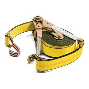 "2"" x 27' Self Contained U Hook Ratchet Strap"