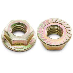 3/8-16 Serrated Hex Washer Flange Nut
