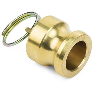 1/2 Brass Cam & Groove (Andrews) Dust Plug