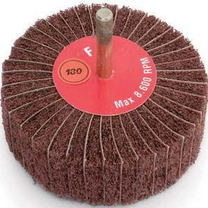 "2"" x 1"" 120 Grit Surface Conditioning Flap Wheel"