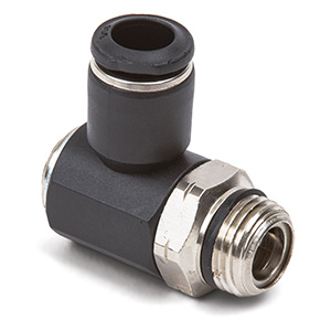 1/2 x 3/8 Uni-Max Knobless Compact Meter Out Flow Control Fitting