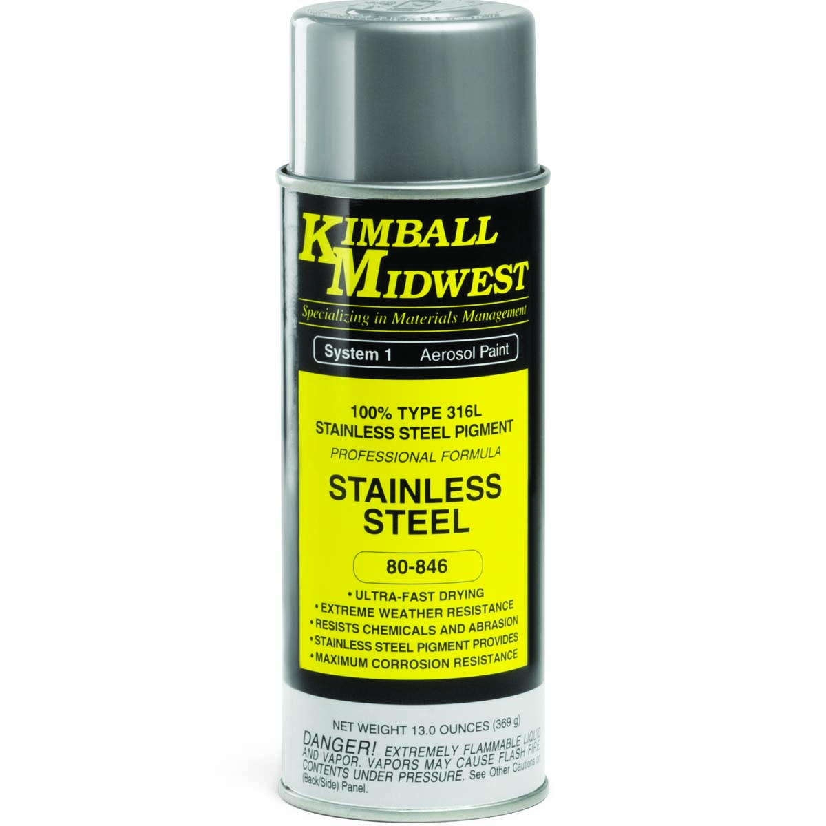Product detail kimball midwest for Can you spray paint stainless steel